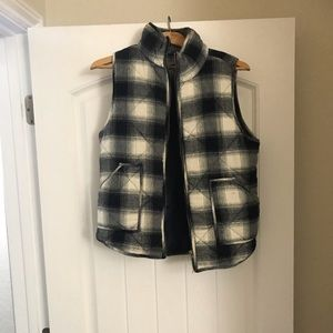 Jackets & Blazers - Women's Plaid quilted vest